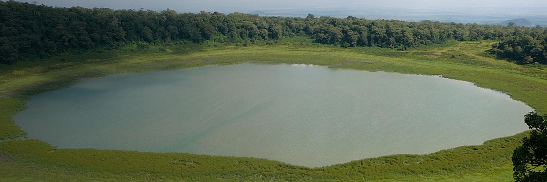 green circle lake